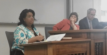 Angela Allen-Bell recently participated in a panel discussion about Louisiana's non-unanimous jury system at the Tulane University Law School